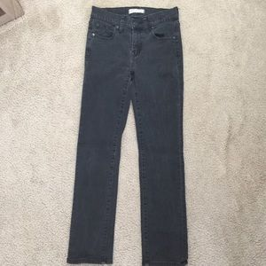 Made well 'Alley Straight' Jeans Size 24 Black